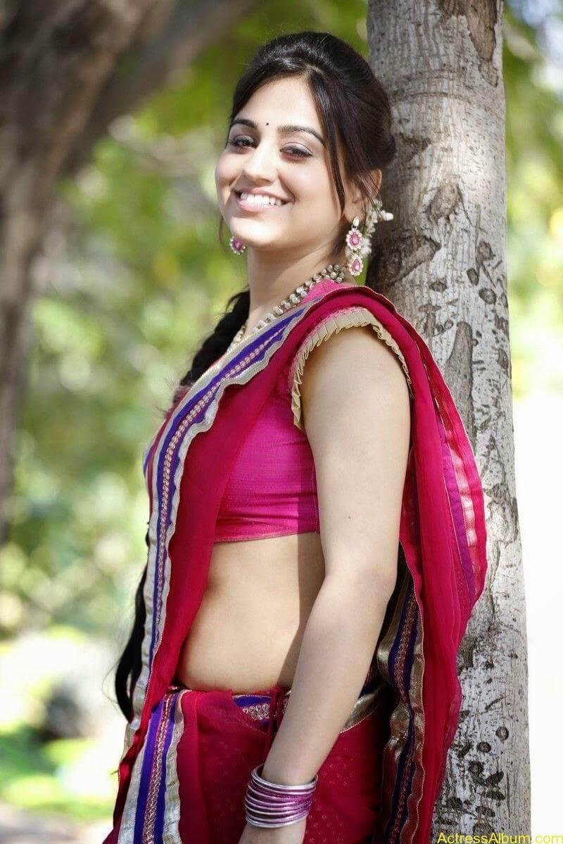 Actress Aksha Hot Sexy Photos In Pink Saree Indian Sexy Actress Photos3