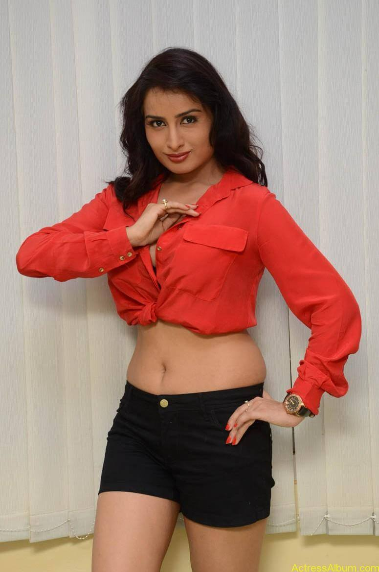 Actress Ananya thakur Navel Show Photos1