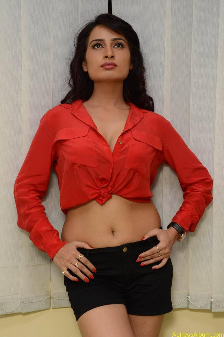 Actress Ananya thakur Navel Show Photos5
