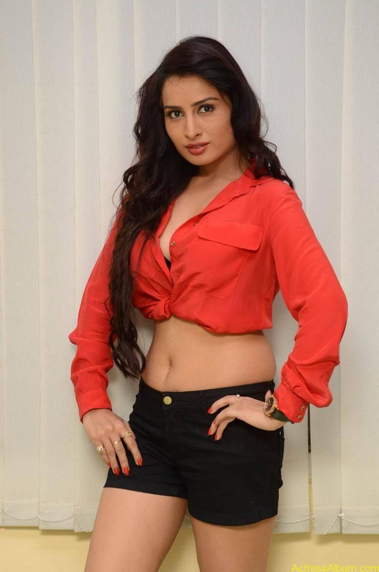 Actress Ananya thakur Navel Show Photos9