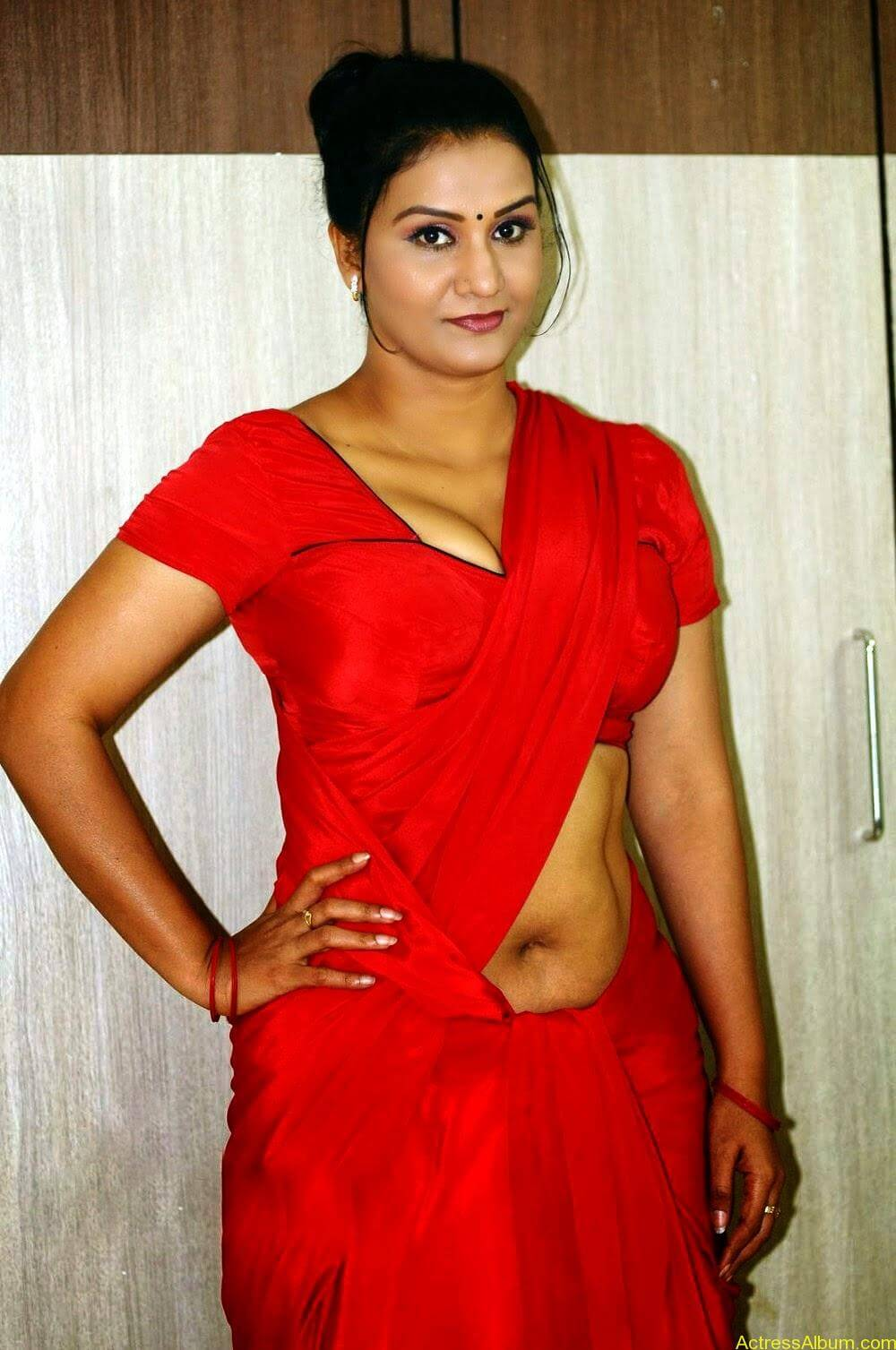 Indian Aunty Sexy Saree Photos