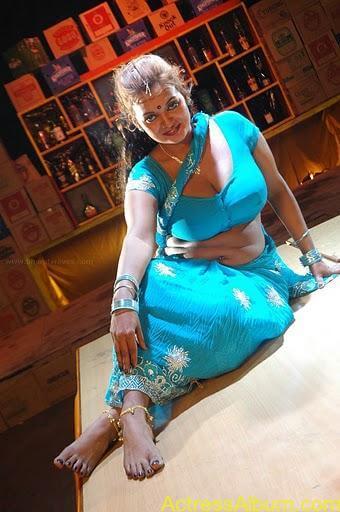 Actress bhannu Hot Blouse Show Boobs --stills-5