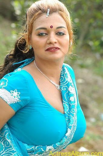 Actress bhannu Hot Blouse Show Boobs --stills33