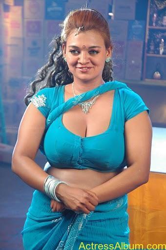 Actress bhannu Hot Blouse Show Boobs --stills5
