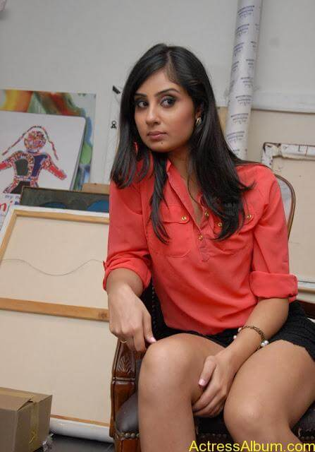 Actress Bhanu Sri Mehara Hot Images At Muse Art (18)