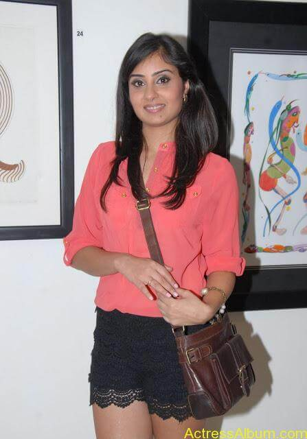 Actress Bhanu Sri Mehara Hot Images At Muse Art (3)
