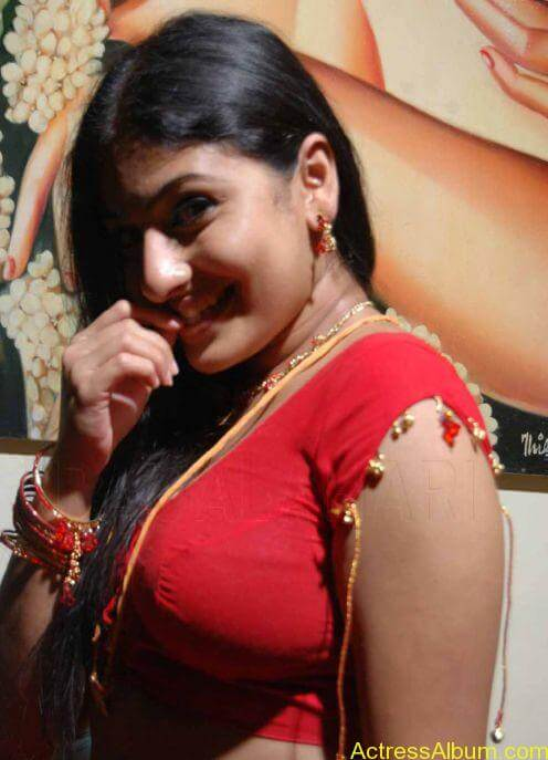 ACTRESS MONICA SEXY RED BLOUSE PHOTO COLLECTIONS01