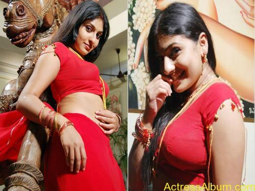 ACTRESS MONICA SEXY RED BLOUSE PHOTO COLLECTIONS6