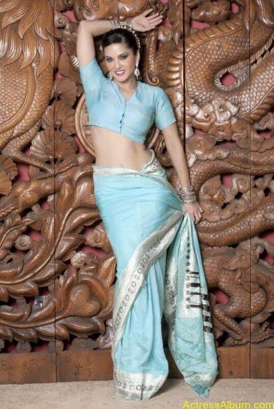 Actress_Sunny_Leone_Spicy_Stills_Saree_Hot_Photos_002