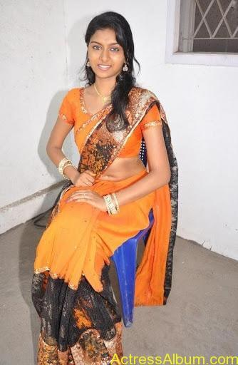 AKSHIDA ACTRESS HOT SAREE PHOTOS6