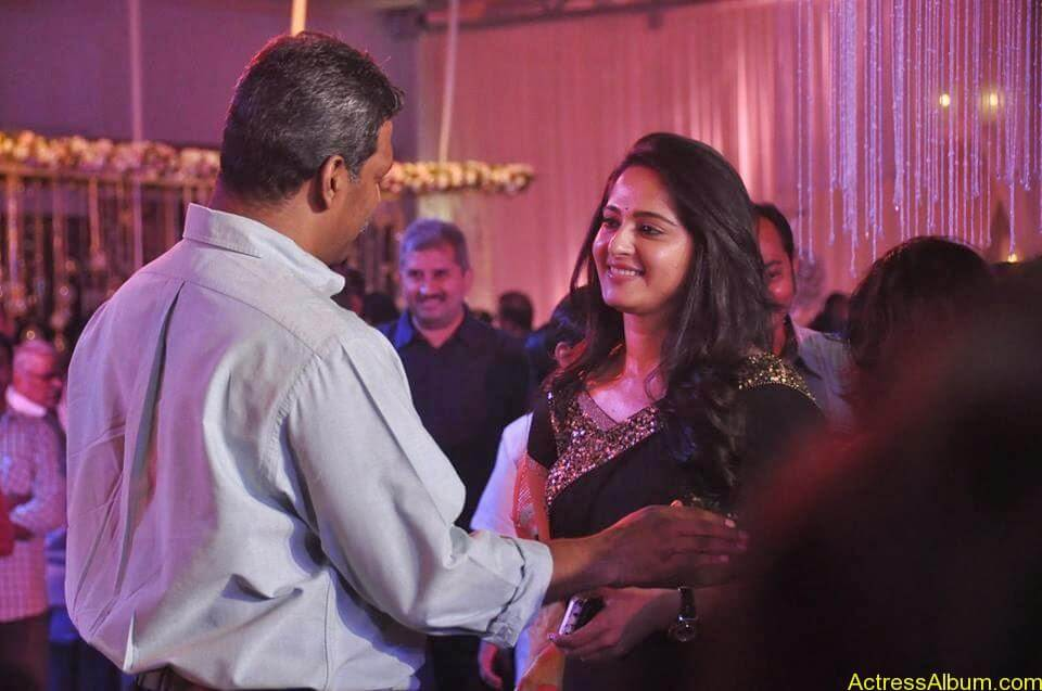 Anushka Shetty at wedding party 2
