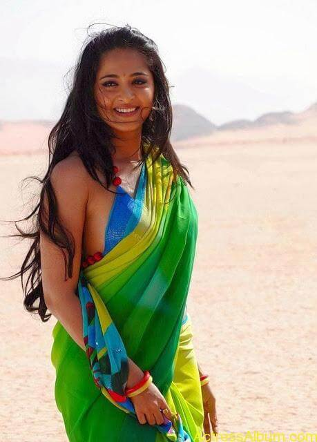Anushka Shetty In Hot Green