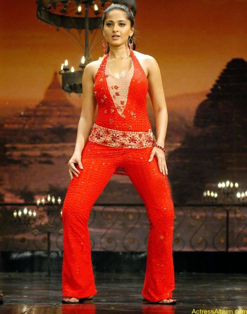 Anushka Shetty Hot in Red