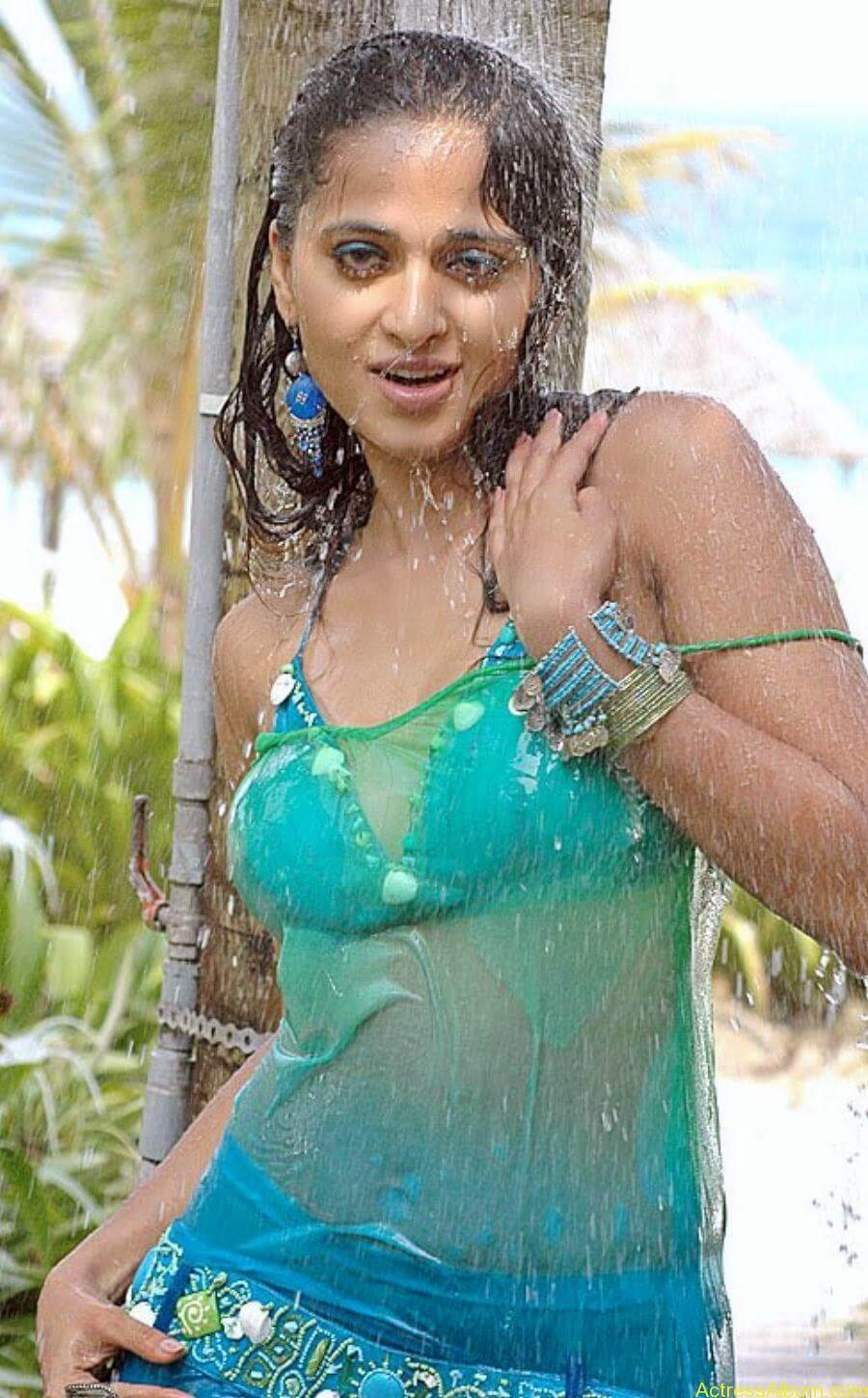 ANUSHKA SHETTY WET SPICY PHOTO COLLECTION