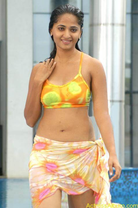 Anuskha Hot Spicy Navel Stills In bikini No watermark (11)