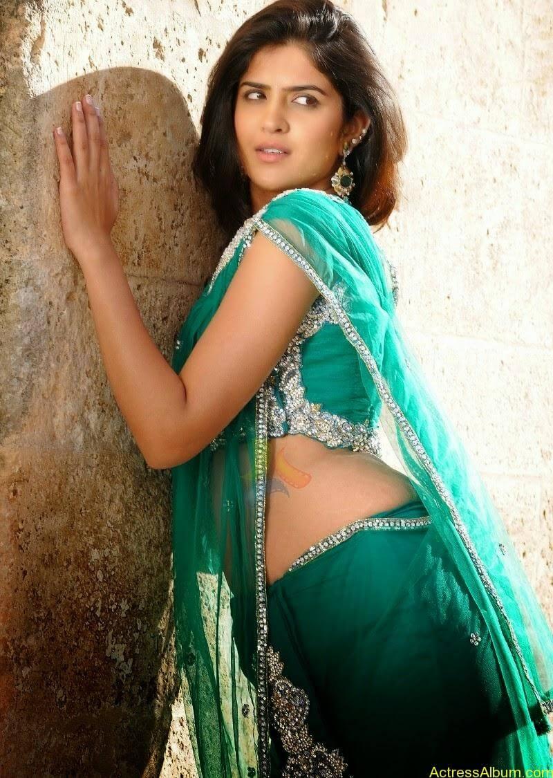 deeksha-seth-stills-in-blue-saree-tollyscree-com- (5)