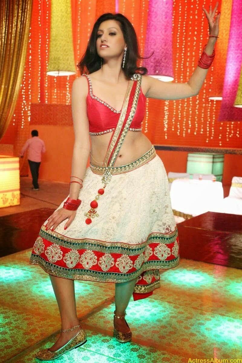 Hamsa Nandini Hot Navel Pics From Loukyam Movie1