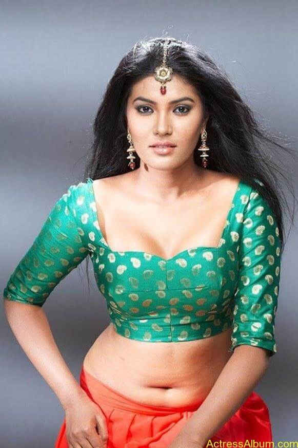 Hot-Actress-Rhythamika-Navel-Show-In-Blouse-4