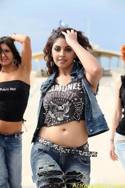 Hot South Actress Richa Gangopadhyay sexy Navel Seens3
