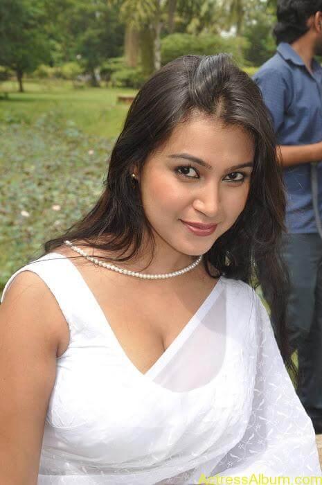 Hot-Tamil-Actress-in-White-Sleeveless-Saree-Blouse-Photos-Sathyasai-Movies-Stills-12