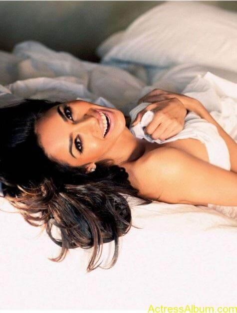 Mallika Sherawat Hot Lingerie Photoshoot in White 3