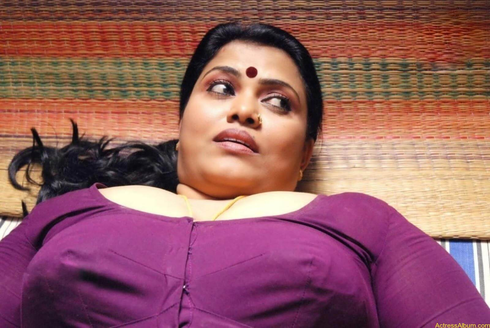 Minu Kurian Hot In Saree Photos 7