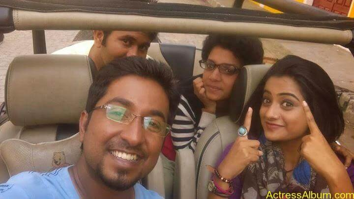 Namitha Pramod With Ormayundo Ee Mugam Team3