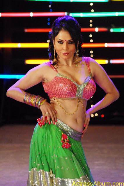 Nikitha-Rawal-Hot-Navel-Show-In-Spicy-Song_2012_12
