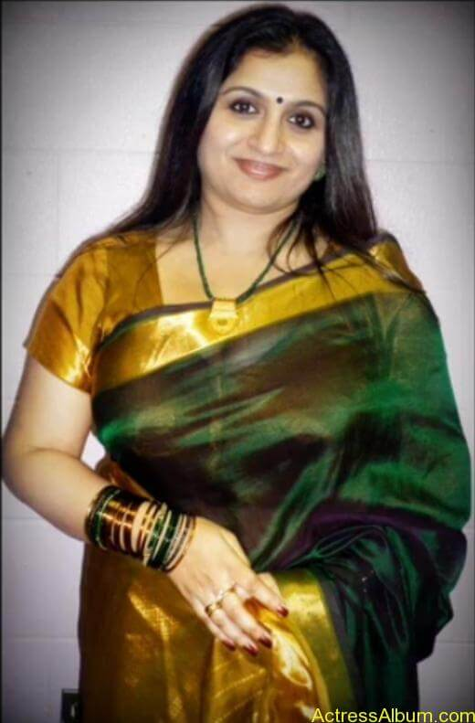 Old Actress Suchithra in Set Saree Photos Malayalam Actress4