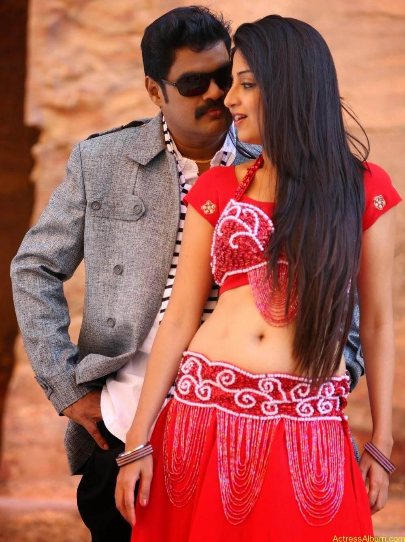 Poonam Kaur Hot Sexy Look In Blue Saree Photos4