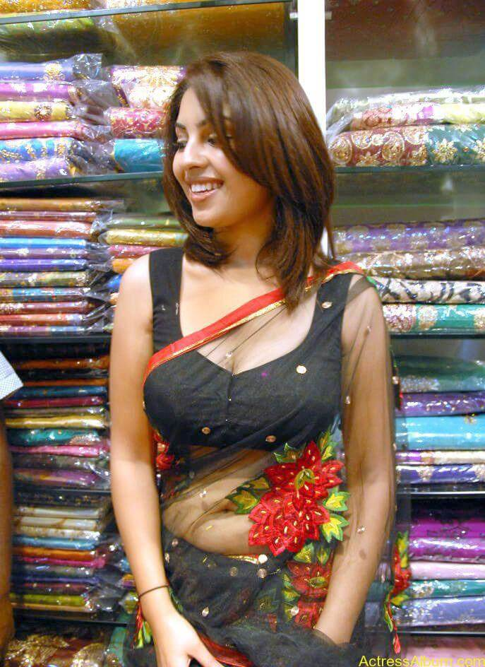 Richa Gangopadhyay Hot Navel and Blouse stills1