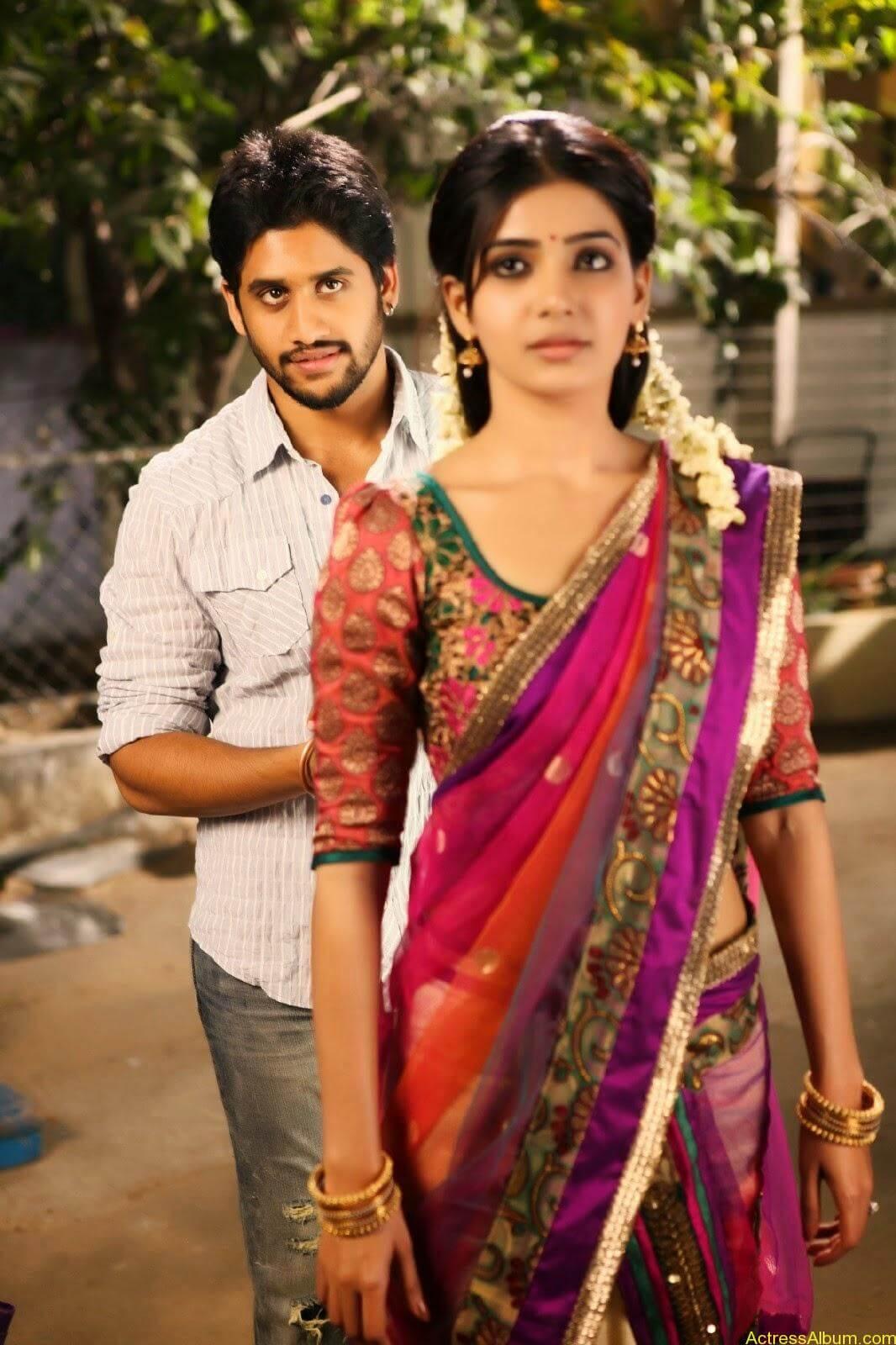 Samantha Hot Navel In Autonagar Surya Movie Stills3