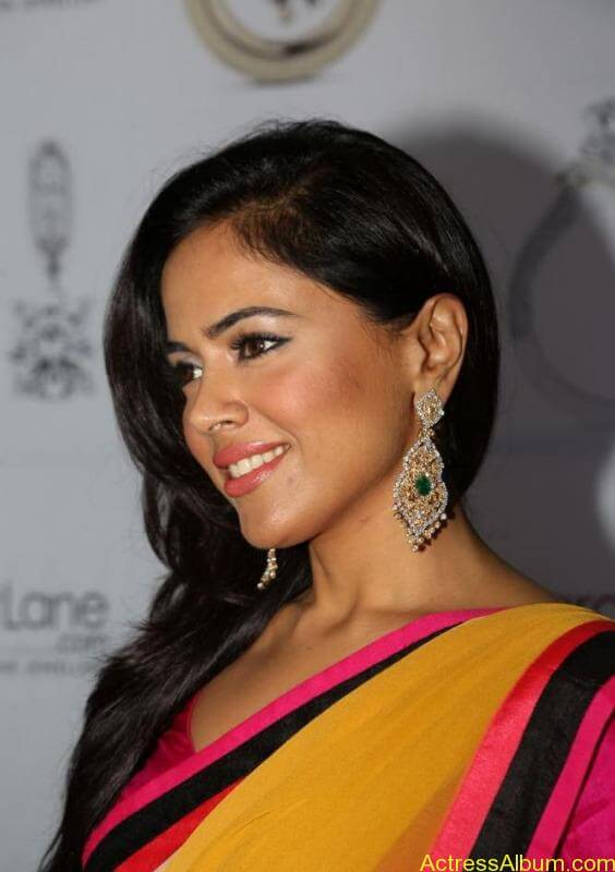 SAMEERA REDDY HOT SAREE COLLECTION4
