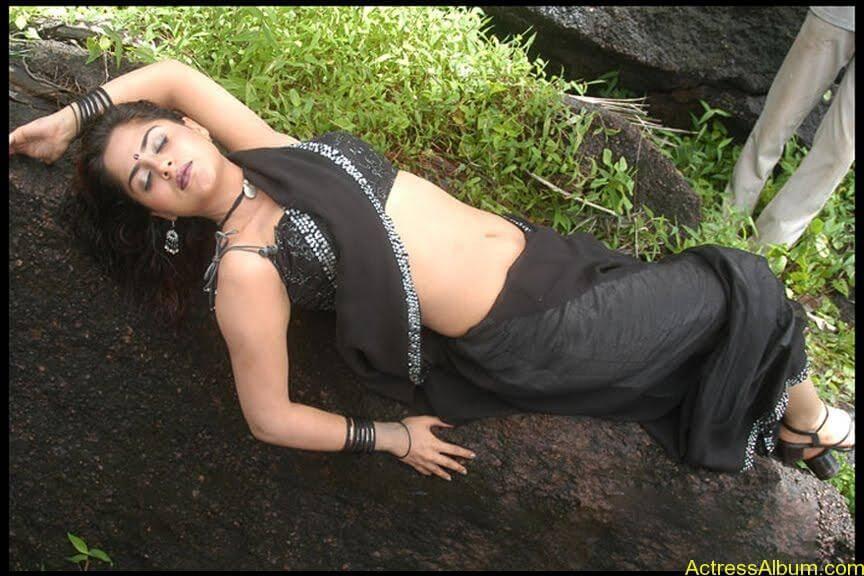 South Indian Masala Actress Farzana Deep Hot Navel Exposing Spicy Stills