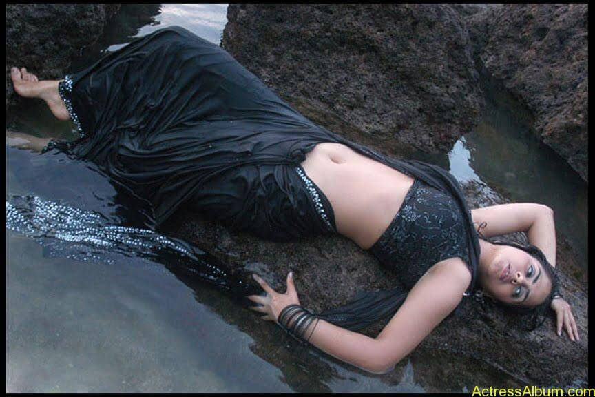 South Indian Masala Actress Farzana Deep Hot Navel Exposing Spicy Stills3