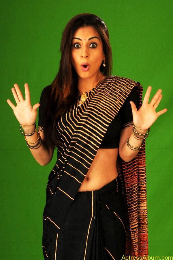Shraddha arya hot stills in saree