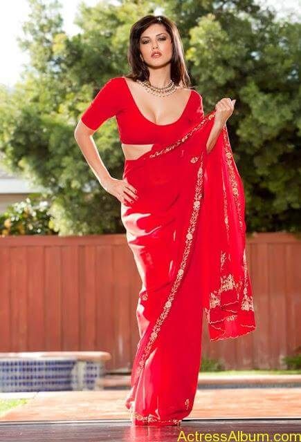 Sunny_Leone_in_Red_Saree_Hot_Sexy_Pics_008