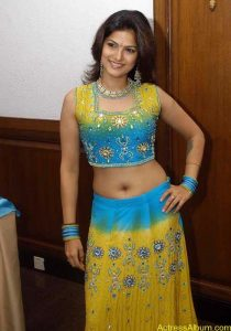 Tharika Hot navel show