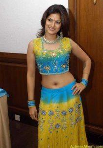 Tharika Hot navel show