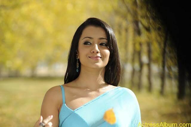 Trisha-In-Blue-Saree-Stills-From-BodyGuard (5)