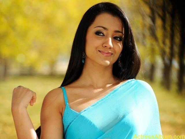 trisha-krishnan-blue-saree-cute-hd-wallpaper-0
