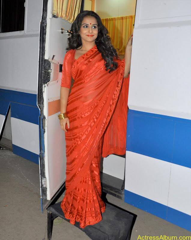 VIDYA BALAN RED HOT SAREE PHOTOS3