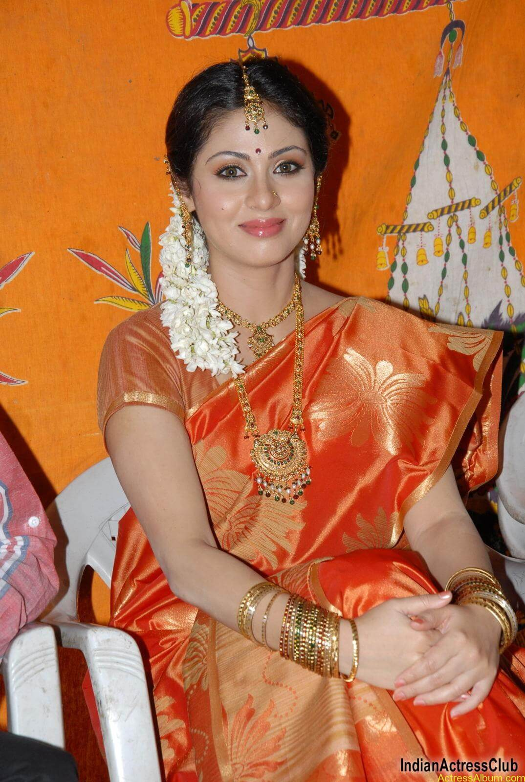 actress sadha hot in saree - actress album