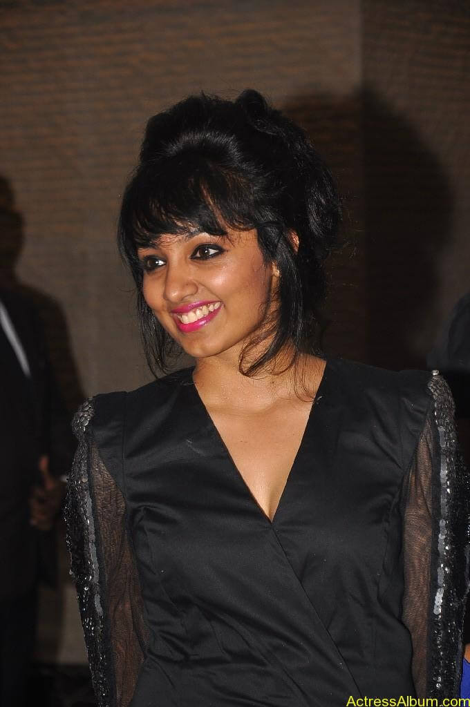 Actress Tejaswi Hot in Awards Function 1