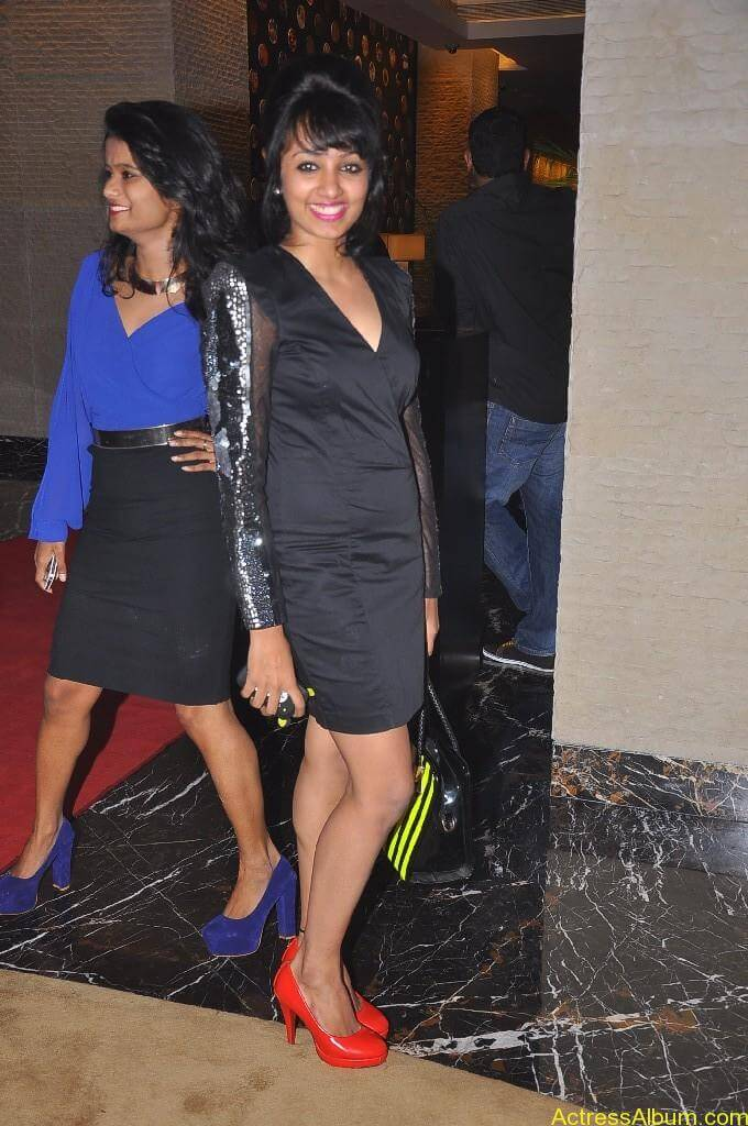 Actress Tejaswi Hot in Awards Function 3