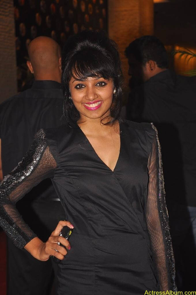 Actress Tejaswi Hot in Awards Function 4