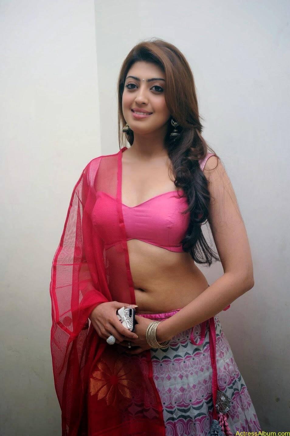 Heroine Pranitha Hot in Pink Dress 3