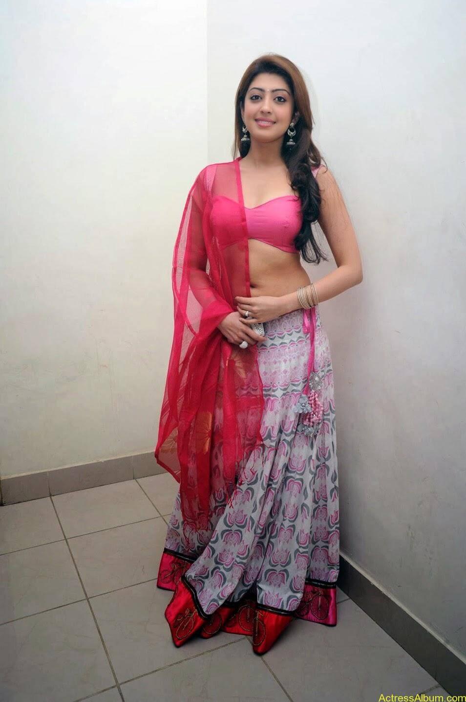 Heroine Pranitha Hot in Pink Dress 4