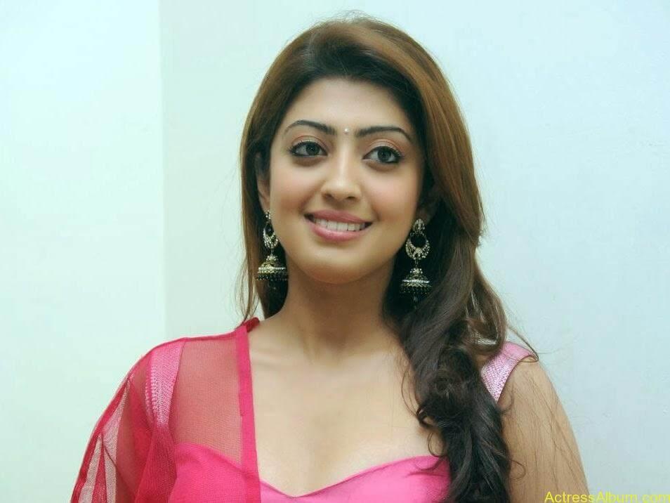 Heroine Pranitha Hot in Pink Dress 9