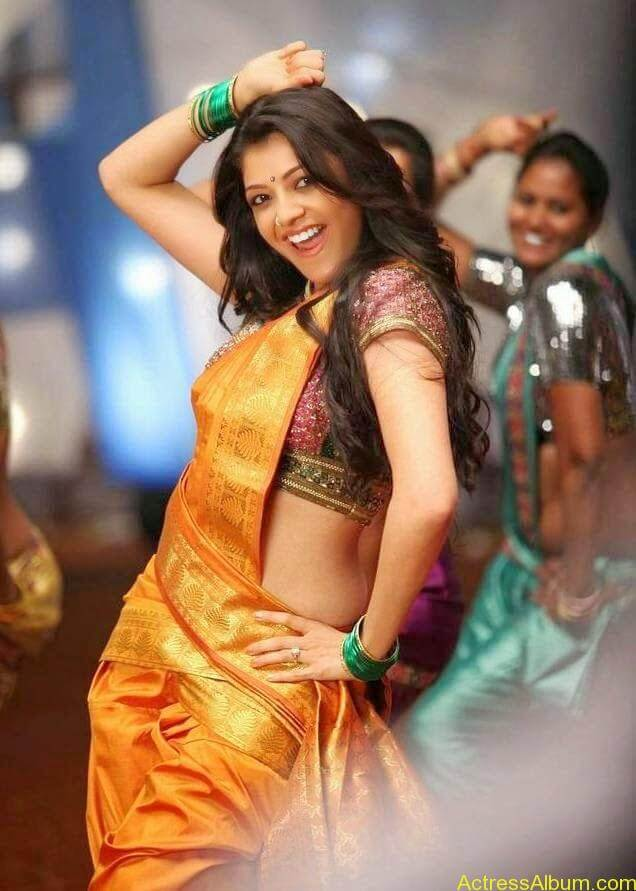 Kajal Hot Saree Pics (5)
